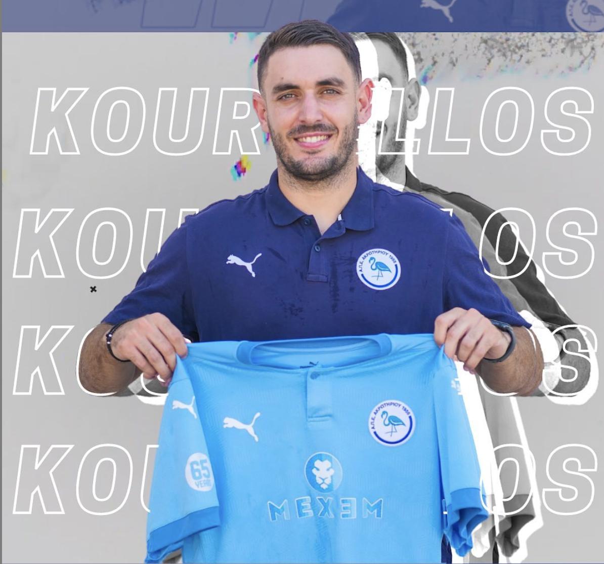 Rafail Kourtellos Signing
